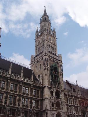 Rathaus an Marienplatz
