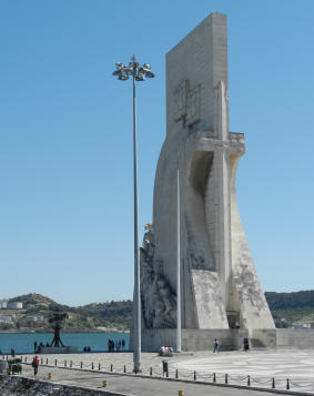 Entdeckerdenkmal im Stadteil Belem